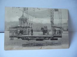 214 . MARSEILLE 13 BOUCHE DU RHONE LA NACELLE DU TRANSBORDEUR CPA 1907 LL - Old Port, Saint Victor, Le Panier