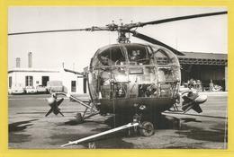 Photo 17,5 / 11 Cm - Nord Aviation : Hélicoptère Militaire ? - - Aviation