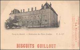 PARAY LE MONIAL --- HABITATION DES PERES JESUITES - BISCUITS GUILLOUT - Paray Le Monial
