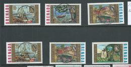 Grenada 1968 Churchill Paintings Set Of 6 FU - Grenada (...-1974)