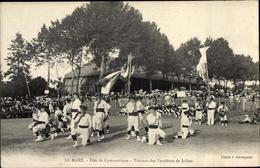 Cp Jallais Maine Et Loire, Fête De Gymnastique, Tournoi Des Vendéens De Jallais, Le Mans - France