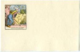 Buvard 21.2 X 13.3  Sans Publicité Image D'Epinal  Devinette 1  Cherchez Les 4 Malandrins - Buvards, Protège-cahiers Illustrés
