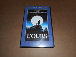 Cassette VHS Film - L'Ours - Actie, Avontuur