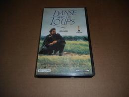 Cassette VHS Film - Danse Avec Les Loups - Actie, Avontuur