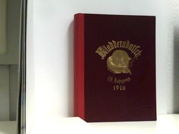 Kladderadatsch - LXXI. (69.) Jahrgang - Nr. 1  Bis Nr. 53 Komplett Mit Allen Beiblättern - Books, Magazines, Comics
