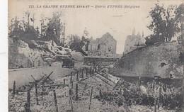 IEPER / YPRES   / OORLOG 1914-18 /  INGANG STAD - Ieper