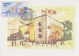 Carte  Maximum  1er  Jour    MONACO   Exposition  Universelle   SEVILLE   1992 - 1992 – Séville (Espagne)