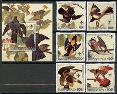 Burkina Faso, Yvert 649/652+PA288&289+BF29**, MNH - Burkina Faso (1984-...)