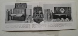 "The Runnind-board Trunk In USA -   ""Service à Voyage Américain"" - Equipement Camping - Coupure De Presse De 1917 - Camping"