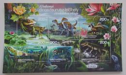 Hungarije-Hungary 2020 The World Of The Bakony Dinosaur Site II Perforated - Hungary