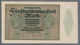 P88b Ro87f DEU-99f  - 500 000 Mark Impression Privée  UNC NEUF - [ 3] 1918-1933 : Repubblica  Di Weimar