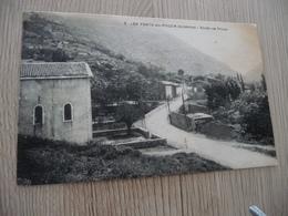CPA 07 Ardèche Les Fonts De Pouzin Route De Privas - Autres Communes