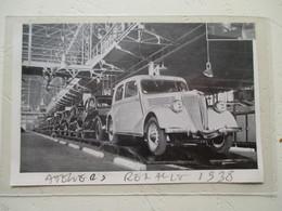 BILLANCOURT  - Atelier Chaîne Renault Automobile - Coupure De Presse De 1938 - Voitures