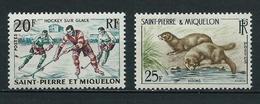 SAINT PIERRE Et MIQUELON 1959 . N°s 360 Et 361 . Neufs  ** (MNH) . - Ungebraucht