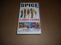 Cassette VHS - Les Spice Girls - Le Concert D'Istanbul + Les Coulisses Et Répétitions - Conciertos Y Música