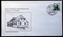 Denmark  1989     FDC   MiNr. 943 The Little Mermaid ( Lot Ks )COVER Det Gamle Postkontor HOLSTERBRO - FDC