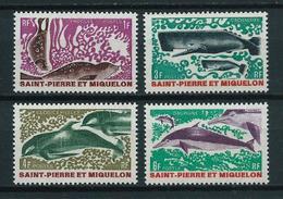 SAINT PIERRE Et MIQUELON 1969 . Série N°s 391 à 394 . Neufs  ** (MNH) . - St.Pierre & Miquelon