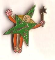 DD51 Pin's Cirque Clown Magie Magicien VERT Achat Immédiat - Personajes Célebres