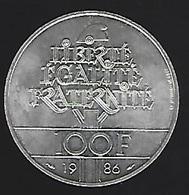 ARGENT 100 Fr 1986 - France
