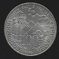ARGENT 100 Fr 1985 - France