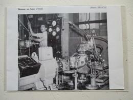 Automobile Aronde SIMCA - Le Banc D'essai - Usine De Nanterre - Coupure De Presse De 1959 - Voitures