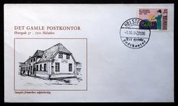 Denmark 1984 The Jewish Community / Die Jüdische Gemeinde / La Communauté Juive MiNr.818 FDC ( Lot Ks ) - FDC