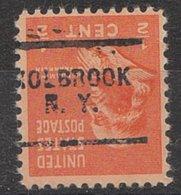 USA Precancel Vorausentwertung Preo, Locals New York, Holbrook 703 - Vereinigte Staaten