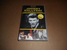 Cassette VHS - Johnny Hallyday - Les Premières Années - Conciertos Y Música