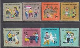 Vietnam Nord 1970 - Kid's Games, Mi-Nr. 600/07, MNH** - Vietnam