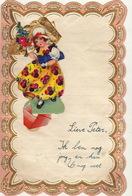 Courrier Décoratif Illustré Découpi Articulé - Manuscritos