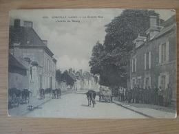 CPA CHEVILLY 45 LA GRANDE-RUE L'ENTREE DU BOURG - Other Municipalities