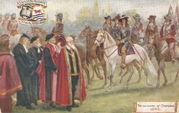 """""""The Surrender Of Oxford""""Tuck Oilette Oxford Pageant I Ser. PC # 9518 - Tuck, Raphael"""