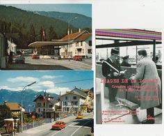 20 / 3 / 394   -   DOUANES    - VALLORBE  &   ST. GINGOLFPH   2   C P M    &. IMAGES DE LA DOUANE   ( MUSÉE ) - Douane