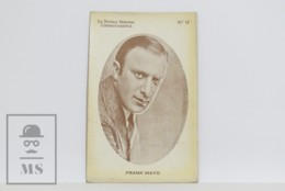 Original 1920s Cinema / Movie Actor Postcard - Nº 12, Frank Mayo - Actors