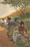 """E. Richter. German Peasant Lofe"" Tuck Oikette Postcard # 9330 - Tuck, Raphael"