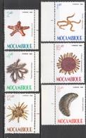 WW663 1982 MOZAMBIQUE MARINE LIFE #913-918 1SET MNH - Vie Marine