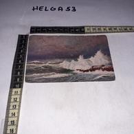 CT6231 ROMPIMENTO DEL MARE WALTER HOY - Malerei & Gemälde