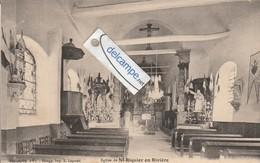 SAINT-RIQUIER-en-RIVIERE : Intérieur De L'Eglise. - France