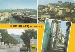 (E296) - FLUMERI (Avellino) - Multivedute - Avellino