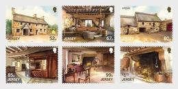Jersey - Postfris / MNH - Complete Set Architectuur 2019 - Jersey