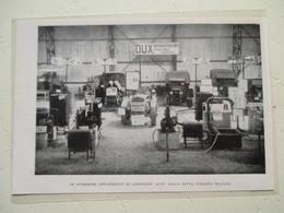 Tracteur PAVESI à Gazogène  - Exposition Italienne DUX Milano  - Coupure De Presse De 1933 - Tracteurs