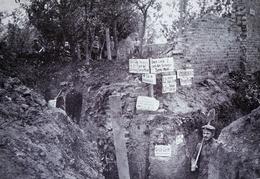 Tranchées Allemandes III. J.R. 180 - Feldpostexpedition Der 26. Reserve Division - Janvier 1916 /Guerre 14/18/WW1 /M70 - Oorlog 1914-18