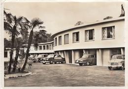 SWITZERLAND-SCHWEIZ-SUISSE-SVIZZERA-VEZIA-LUGANO-HOTEL=VEZIA=-AUTO-CAR-CARTOLINA VERA FOTOGRAFIA- VIAGGIATA IL 25-4-1959 - TI Tessin