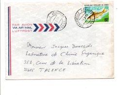 CONGO LETTRE POUR LA FRANCE 1979 - Congo - Brazzaville