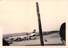 """010030 """"DC-8-32 - SWISSAIR - HB-IDA - 3 MAGGIO 1965"""" ANIMATA, FOTO ORIG - Aviazione"""