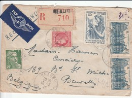 CHATEAU DE COMBERTAULD LETTRE EXPEDIEE PAR MOINGEON - Autres Collections