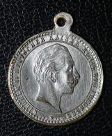 """WW1 - Médaille Allemande """"Frederic Et Guillaume II Rois De Prusse"""" WWI - 1914-18"""