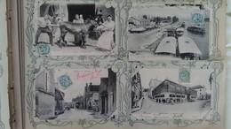 - ALBUM 312 CPA FRANCE (Villes, Villages, Animations, Fantaisie) - TOUTES LES CARTES SONT COLLÉES DANS L'ALBUM - - Cartes Postales