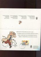 Belgie Tintin Kuifje 1944 Diplomatic Postcard New Year 2013 Boom Cancel 12/12/2012 - Souvenir Cards