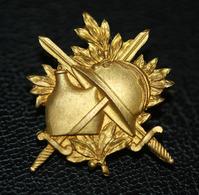 """WW1 - Très Belle Broche De Poilu 14/18 """"Glaives, Casque Adrian Et Gourde"""" WWI - 1914-18"""